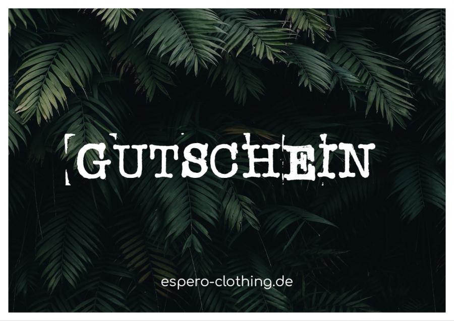 espero clothing faire nachhaltige mode online shop gutschein